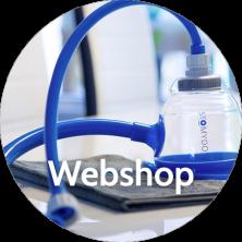 Stomydo webshop met producten als de Stomydo stomadouche en plakverwarmer